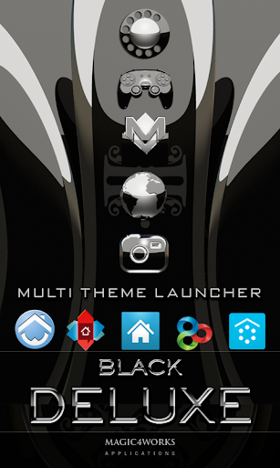 icon pack black deluxe