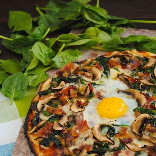 Farm to Table Egg Pizza
