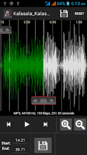 Easy Mp3 Cutter Ringtone maker