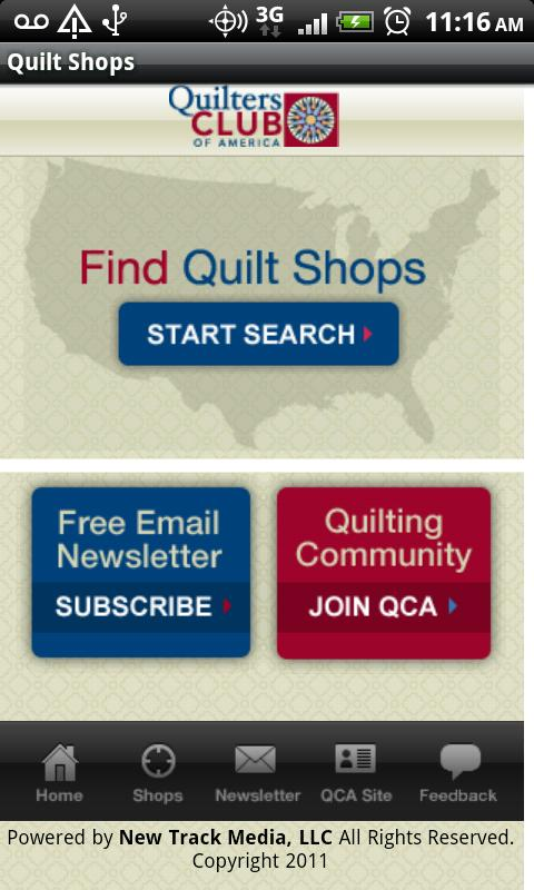 Quilt Shops - screenshot