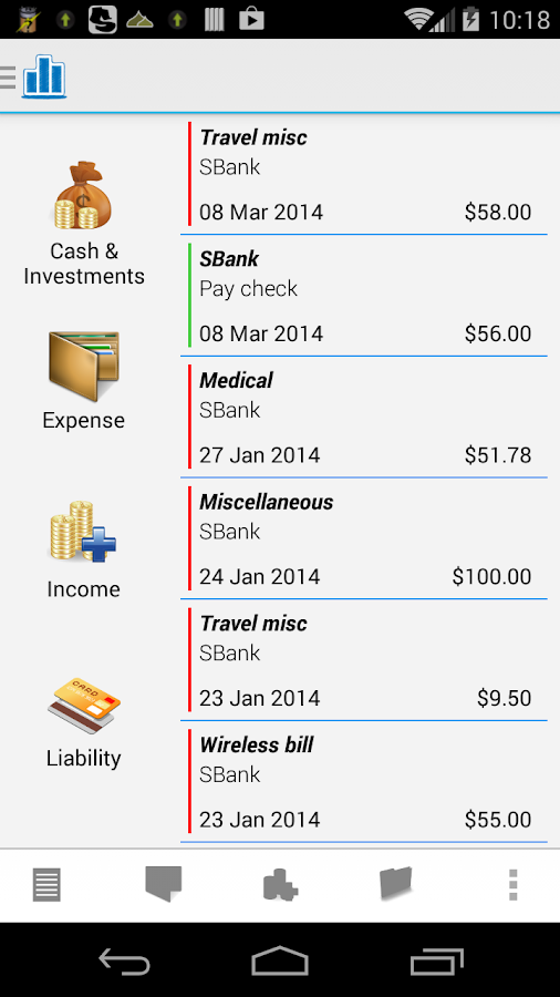 Personal Finance Manager - screenshot