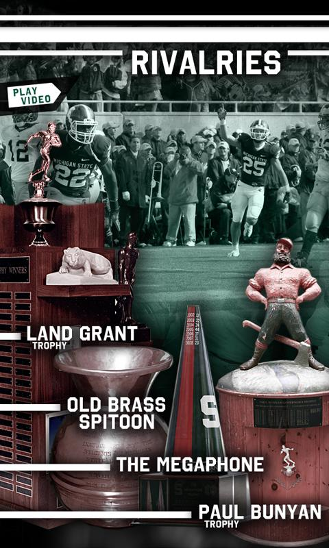 Michigan State Football - screenshot