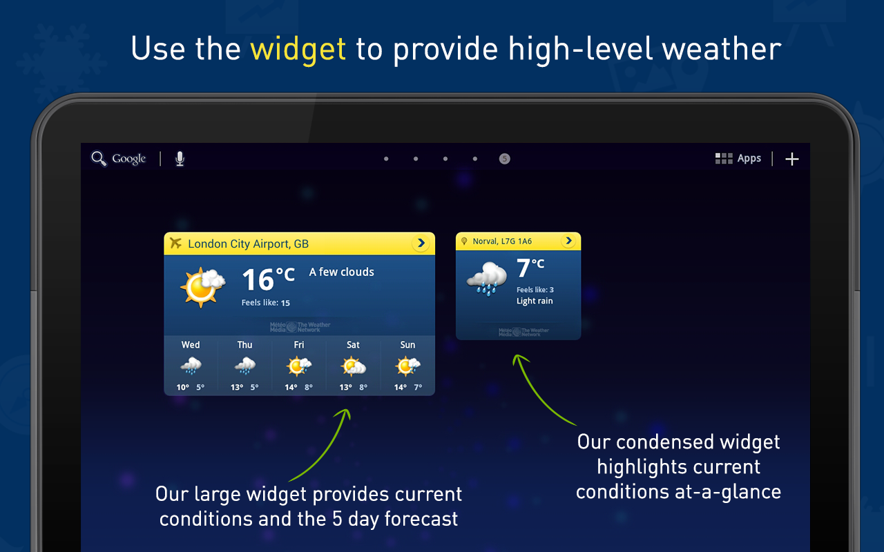 How to download the weather network app
