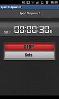 Screenshot of Sport Stopwatch - Lite