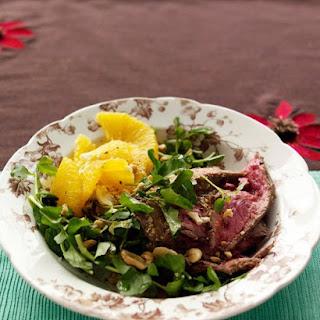 Steak, Watercress, and Orange Salad