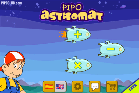 ASTROMAT LITE math with Pipo- screenshot