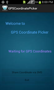GPS Coordinate Picker- screenshot thumbnail