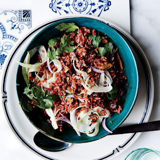 Red Rice Salad with Pecans, Fennel, and Herbs Recipe