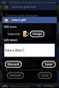 玩免費社交APP|下載Birthday Scheduler for Fb Pro app不用錢|硬是要APP