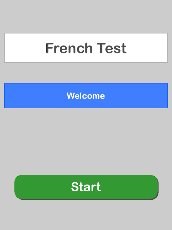 French Test Pro- screenshot