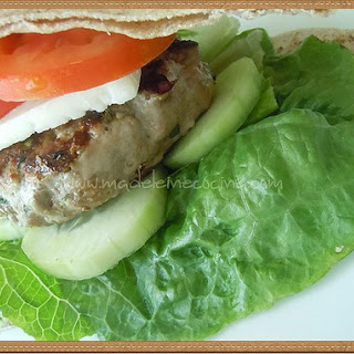 Greek Hamburgers.