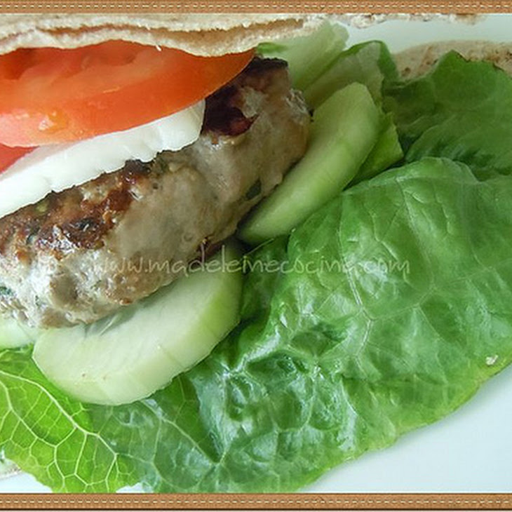 Greek Hamburgers Recipe