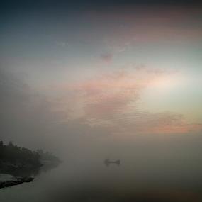 Colouring the Sky by Kingshuk Mondal - Landscapes Cloud Formations ( sundarban, forest, landscape, mangrove, river )
