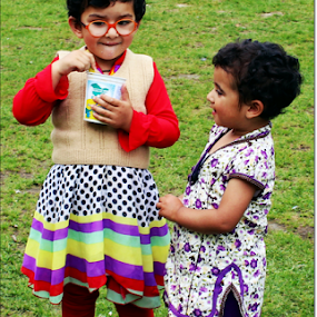 children see magic because they look for it.. by Shafaly Sharma - Babies & Children Children Candids ( child, potrait, child photography, children candids, children, candid )