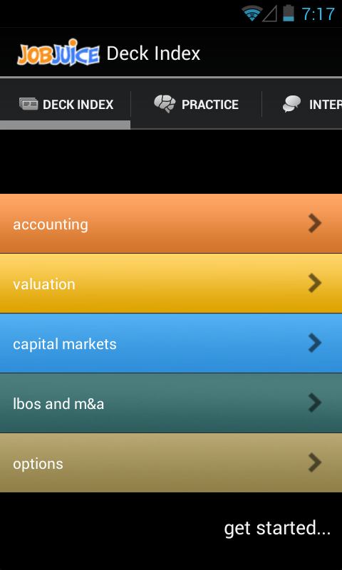 Finance & Inv.Banking Jobjuice- screenshot