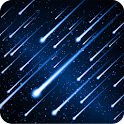 Meteors Free Live Wallpaper icon