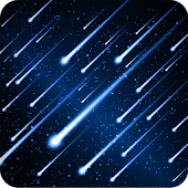Meteors Free Live Wallpaper