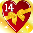 Valentine's day: 14 Free Apps icon
