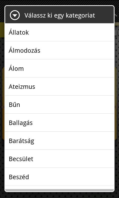 FlipApp FamousQuotes Hungarian- screenshot