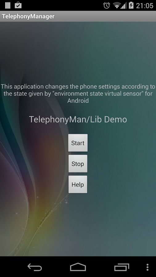TelephonyManager - screenshot