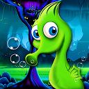 Seahorse Crazy Underwater +