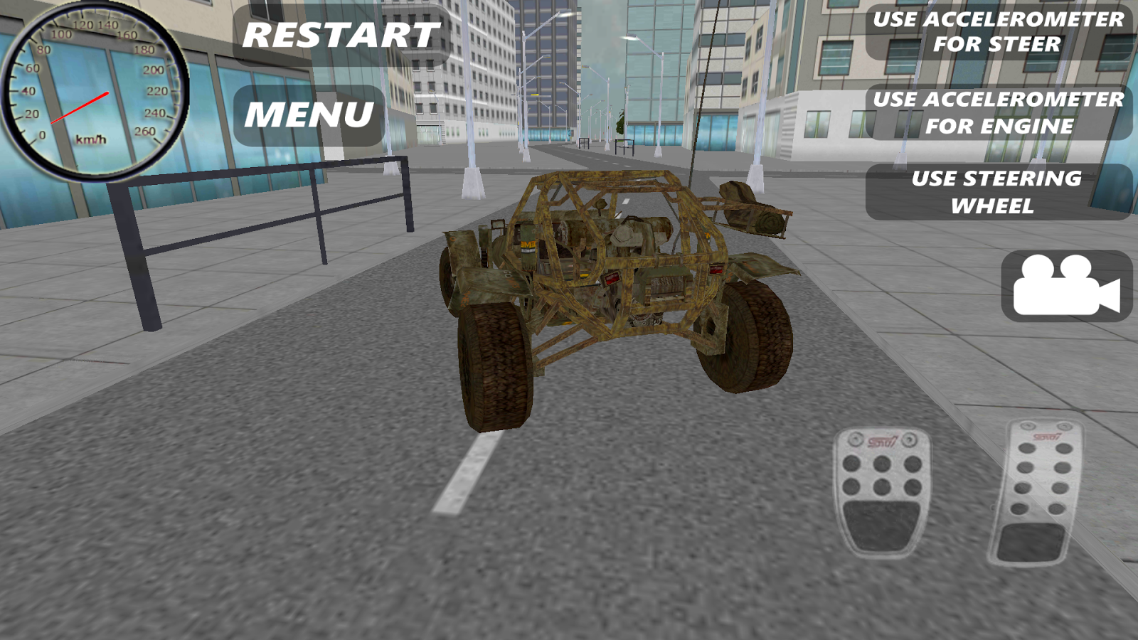 Buggy Simulator HD- screenshot