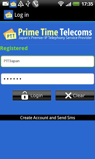 PTTJapan - Free Calls + SMS