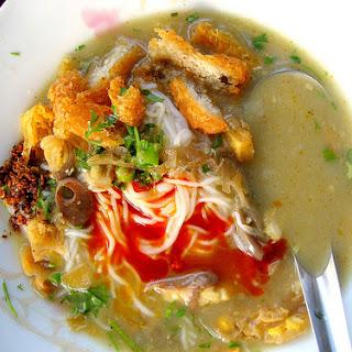 Burmese Catfish Chowder - Mohinga