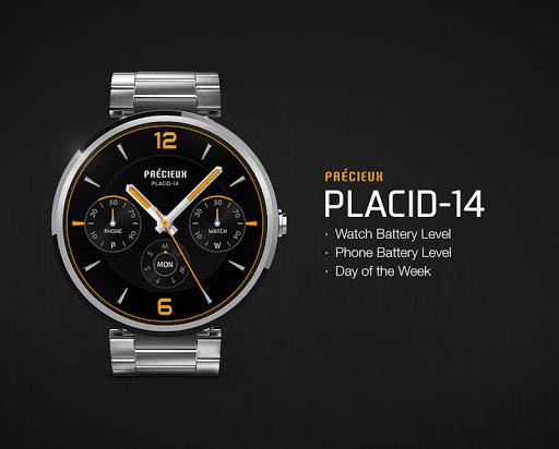 Placid-14 watchface by Precieu