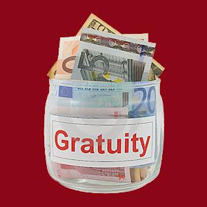 Gratuity Jar