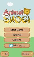 Screenshot of Animal Shogi
