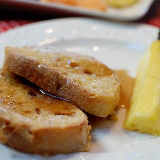 Egg Nog French Toast.