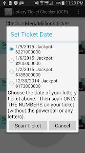 lotto ticket app