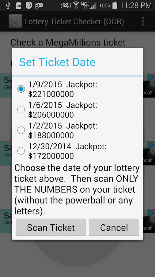 lotto word generator