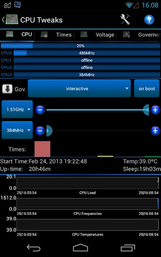 ����� ������ Android Tuner v0.9.2