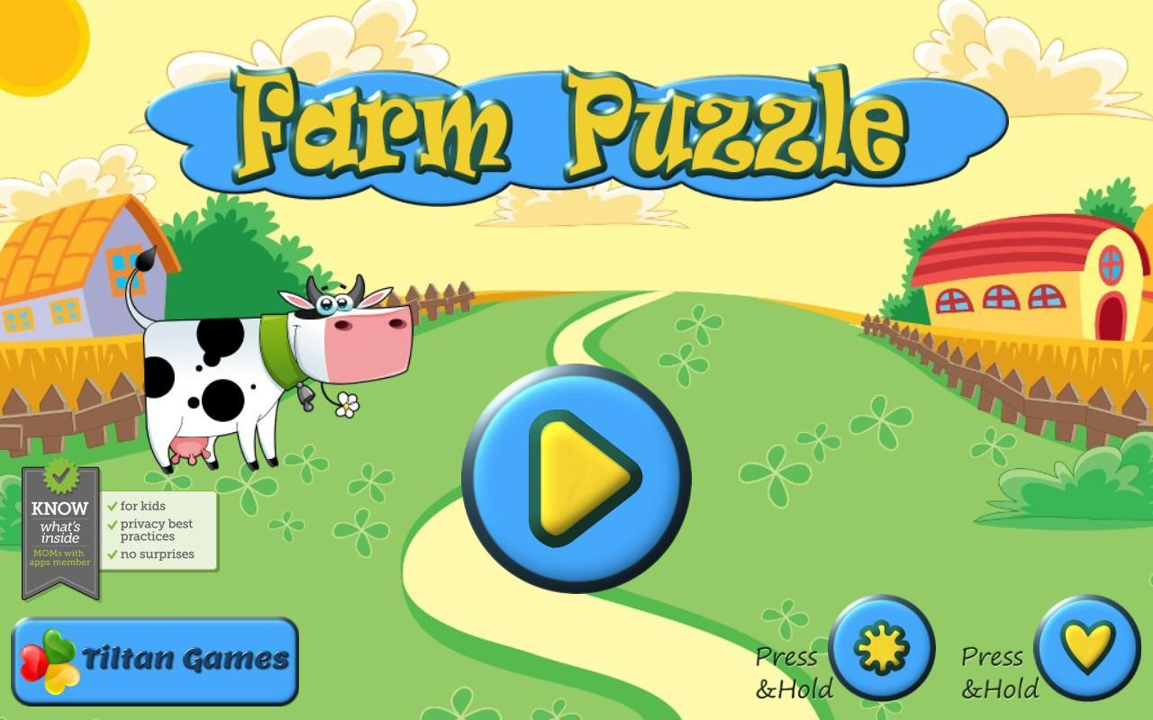 farm animal puzzles for kids android apps on google play