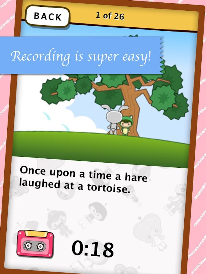 Record your Bedtime Story- screenshot
