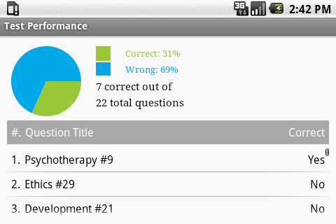 Social Work Clinical Exam Prep - screenshot