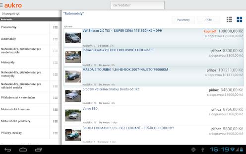 Aukro.cz- screenshot thumbnail