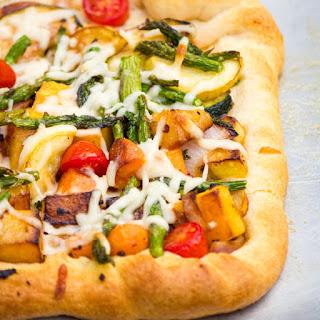 Garden Vegetable Tart #weekdaysupper