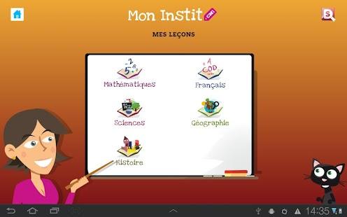 玩教育App|CM1 Mon Instit免費|APP試玩