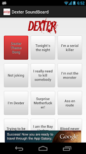Dexter Soundboard - screenshot thumbnail