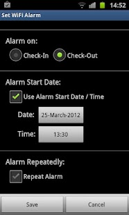WiFi Alarm - screenshot thumbnail