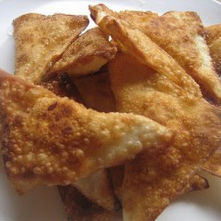 Crispy Cream Cheese Wontons