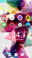 Screenshot of minimal flat dodol theme