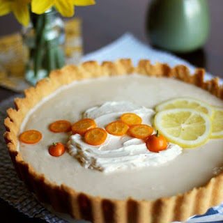 Lemon-Yogurt Icebox Tart.