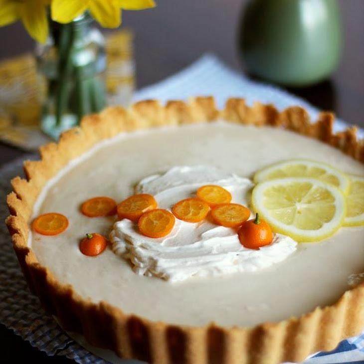 Lemon-Yogurt Icebox Tart