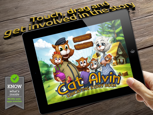 Cat Alvin - 子供のための絵本