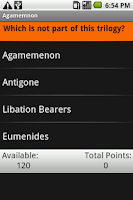 Screenshot of Agamemnon: Shmoop Guide