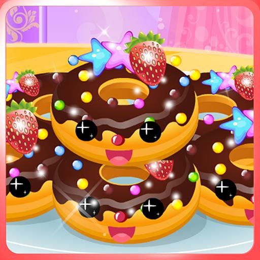 可愛的甜甜圈機 休閒 App LOGO-硬是要APP